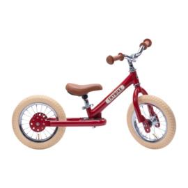 Trybike Steel Loopfiets - Vintage Rood