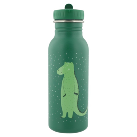 Trixie Drinkfles RVS Mr. Crocodile - Groen (500 ml)