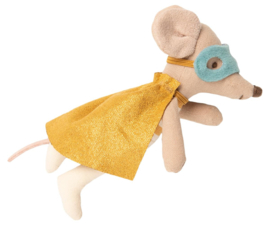 Maileg Superhero Mouse in Suitcase - Little Brother
