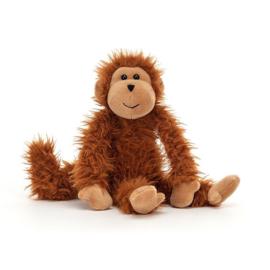 Jellycat Bonbon Knuffel Aap - Monkey (22 cm)