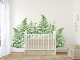 Urban Walls Muurstickers - Ferns & Eucalyptus