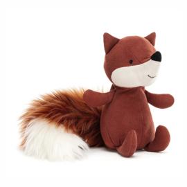Jellycat Suedetta Fox - Knuffel Vos (17 cm)