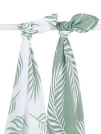 Jollein Hydrofiele Doek XL Nature - Ash Green (set van 2)