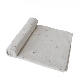 Mushie Hydrofiele Doek XL Swaddle - Falling Stars