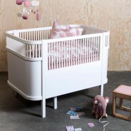 Sebra Kili Jersey Hoeslaken Baby - Wit