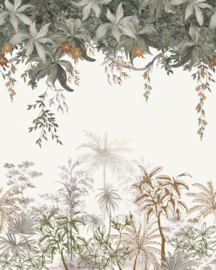 Lilipinso Utan Behang Paneel - Jungle Landscape (200 x 248 cm)