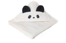Liewood Augusta Badcape - Panda Creme Wit