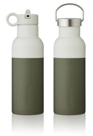 Liewood Drinkfles Neo Waterbottle - Hunter Green Dove Blue Mix (500ml)