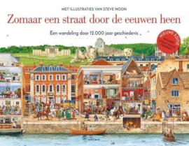 Uitgeverij Gottmer Zomaar een Straat door de Eeuwen heen + 7jr