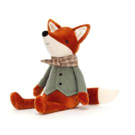 Jellycat Riverside Rambler Fox - Knuffel Vos (33 cm)