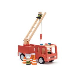 Kids Concept Rode Brandweerauto - Aiden