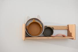 Liewood Eddie Silicone Bowl Kom Set - Sandy Khaki Multi Mix (set van 3)
