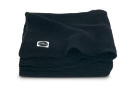 Jollein Gebreide Ledikantdeken Basic Knit - Black