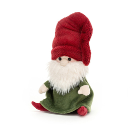 Jellycat Kerst Knuffel Kerstkabouter Rudy - Gnome Rudy (15 cm)