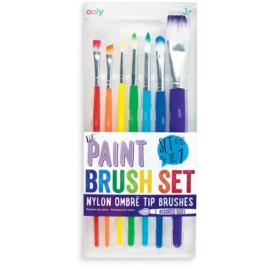 Ooly Verfkwasten Paint Brush Set - Set van 7 penselen