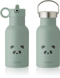 Liewood Anker Waterbottle Drinkfles - Panda Peppermint (350ml)