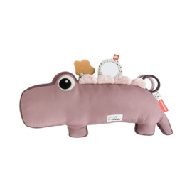 Done by Deer Tummy Time Activity Toy Croco - Roze