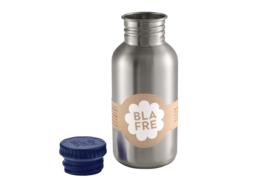 Blafre Drinkfles RVS - Marine Blauw (500ml)