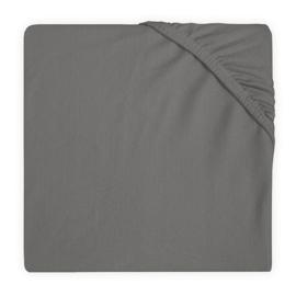 Jollein Hoeslaken Ledikant Jersey - Storm Grey (60 x 120 cm)