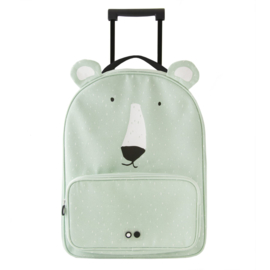 Trixie Reiskoffer Travel Trolley Mr Polar Bear - IJsbeer