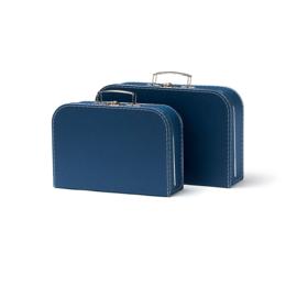 Kids Concept Kofferset - Blauw (set van 2)