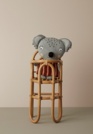 OYOY Rotan Poppen Stoel - Rainbow Doll Chair
