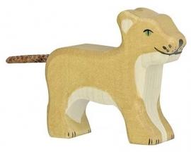 Holztiger Leeuw Welp - Staand (80141)