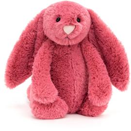 Jellycat Bashful Bunny Cerise - Knuffel Konijn (31 cm)
