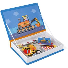 Janod Magneetboek - Racers