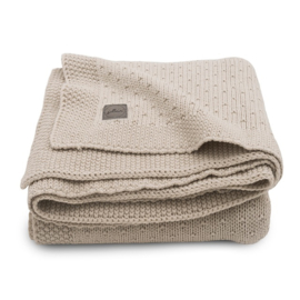 Jollein Deken Bliss Knit - Nougat (100 x 150 cm)