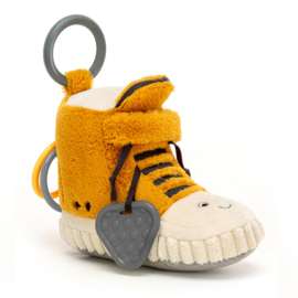 Jellycat Kicketty Sneaker Activity Toy - Activity Toy Sneaker