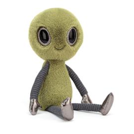 Jellycat Intergalactic Zalien Small - Knuffel Alien (23 cm)