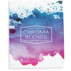 Ooly Schetsboek Aquarel Papier - Chroma Blends