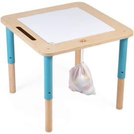 Janod Tafel Verstelbaar - Blauw +18m