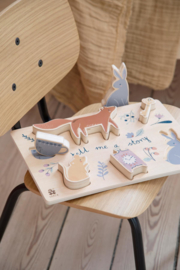 Sebra Wooden Chunky Puzzle - Daydream