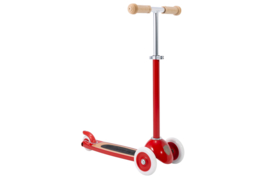 Banwood Step Scooter Kinderstep 3 Wielen - Rood +3jr