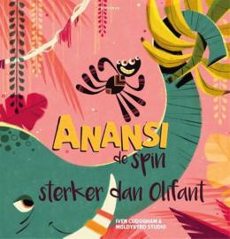 Uitgeverij Gottmer Anansi de Spin, Sterker dan Olifant - Iven Cudogham