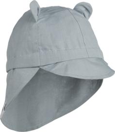 Liewood Eric Sun Hat Zonnehoed - Sea Blue (1-2 jaar)