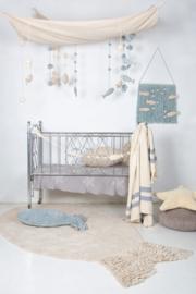 Lorena Canals Kussen - Baby Fish Aqua Blue