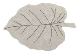Lorena Canals Vloerkleed - Monstera Leaf Natural