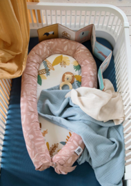 Sebra Kili Jersey Hoeslaken Baby - Royal Blue