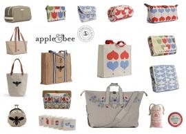 Publicatie - Pretty Brilliant / Apple & Bee jute en canvas tassen - 26/09/2012
