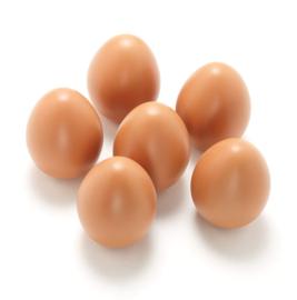 Yellow Door Sensory Play Stenen -  Speel Eieren (set van 6) + 3jr