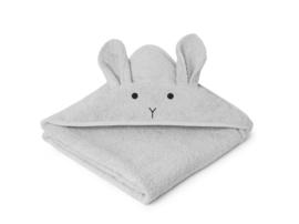 Liewood Augusta Badcape - Rabbit Licht Grijs