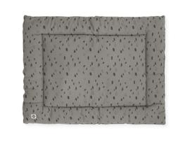 Jollein Boxkleed Spot - Storm Grey (80 x 100 cm)