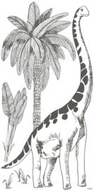 Lilipinso Dinosaurus Muursticker XL - Brontosaurus