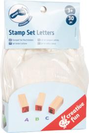 Small Foot Stempels Alfabet