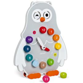 Janod Ik leer - Klok Owly +3jr