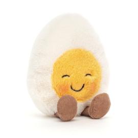 Jellycat Amuseable Boiled Egg Blushing - Knuffel Gekookt Eitje Blozend (14 cm)