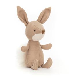 Jellycat Suedetta Bunny - Knuffel Konijn (14 cm)